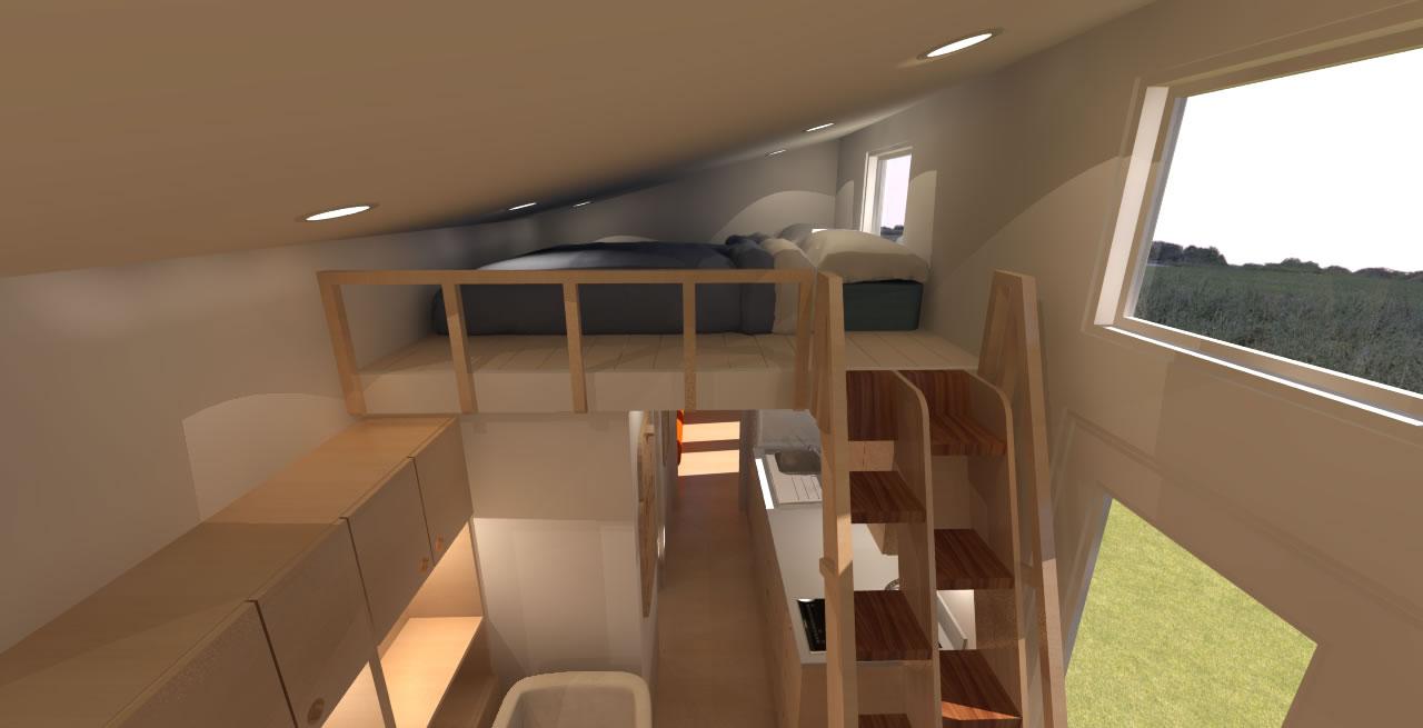 Comptche 24 Interior Loft