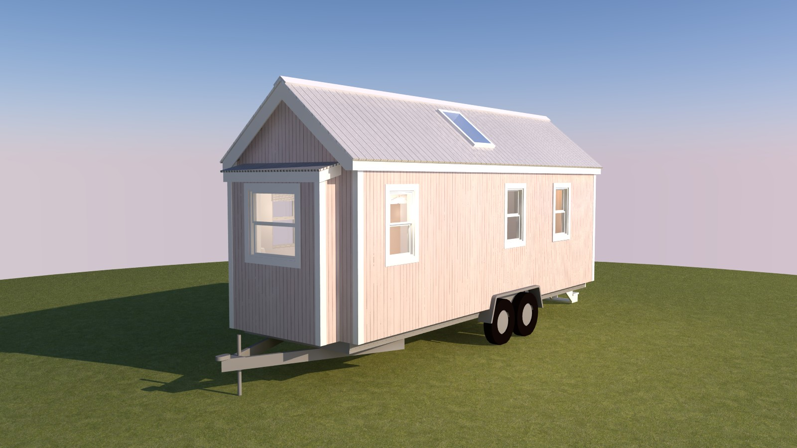 Little River 24 Tiny House Plans