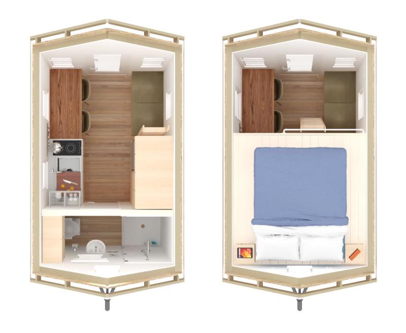 Philo Tiny House Plans