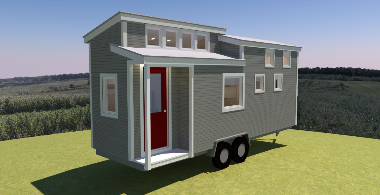 Potter Valley 24 Tiny House Plans