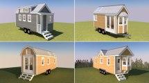 Tiny Houses Floor Plans 3D