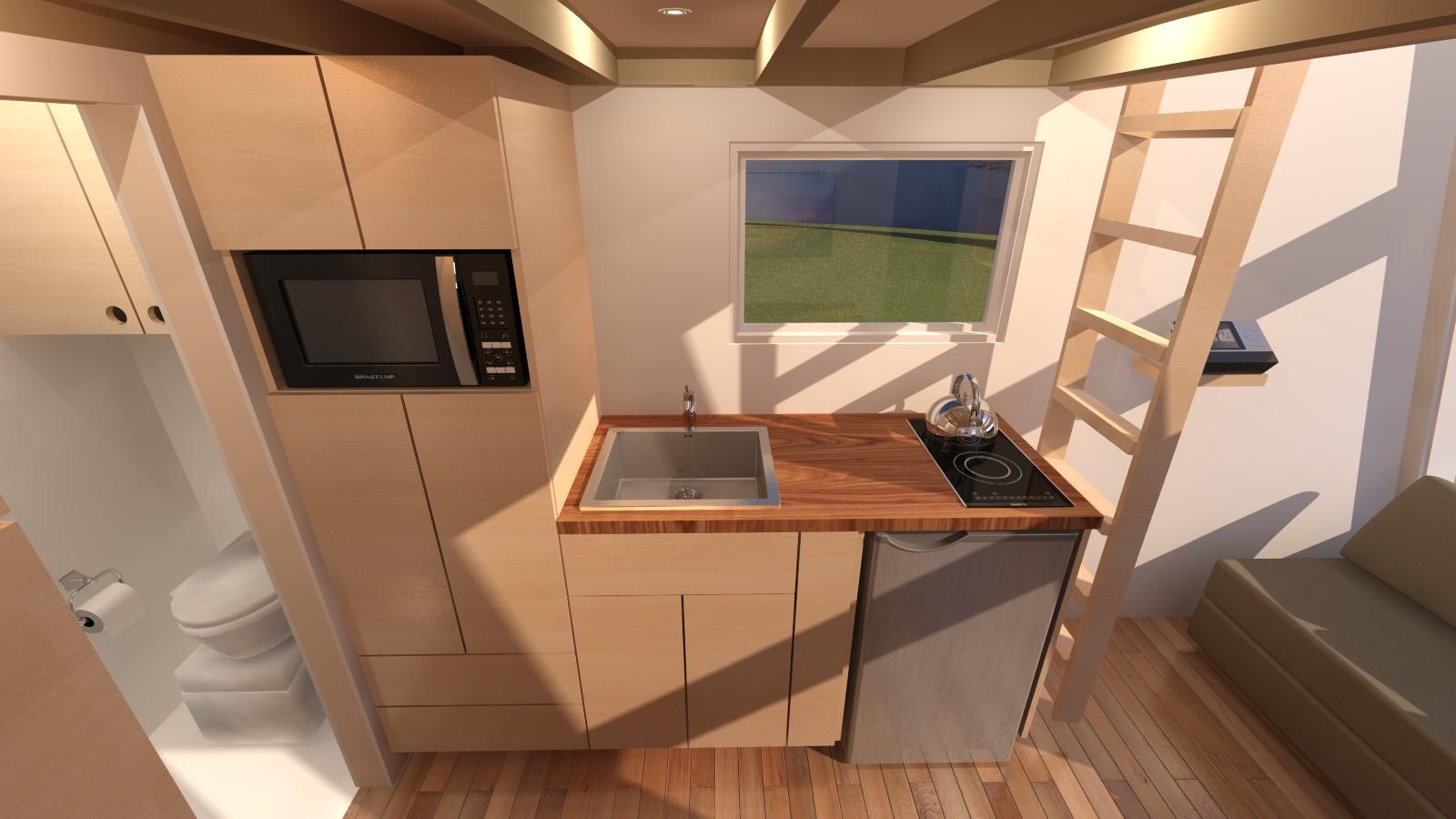 Anchor Bay 16 Tiny House   Kitchen