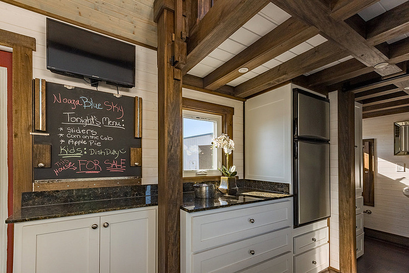 nooga blue sky by tiny house chattanooga kitchen 2 - Tiny House Kitchen 2