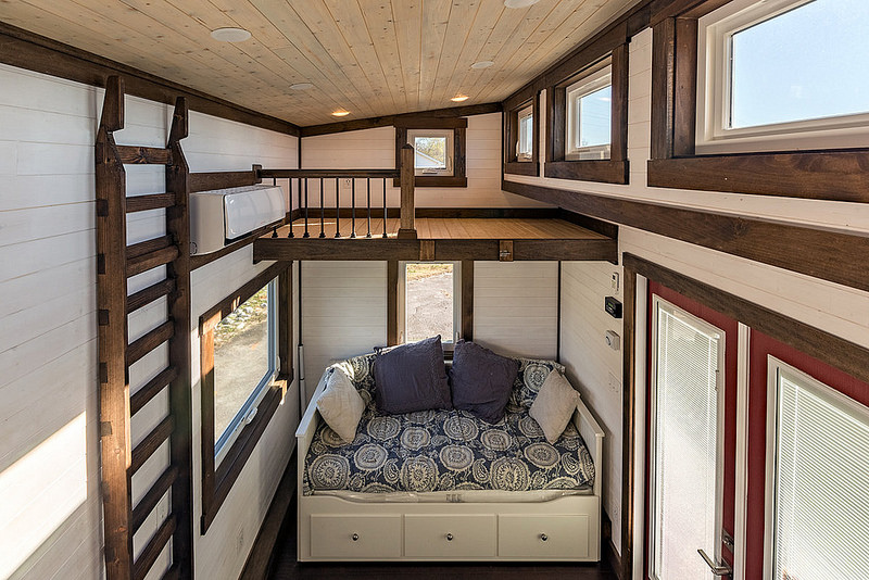 nooga blue sky by tiny house chattanooga loft 2 - Tiny House With Loft 2