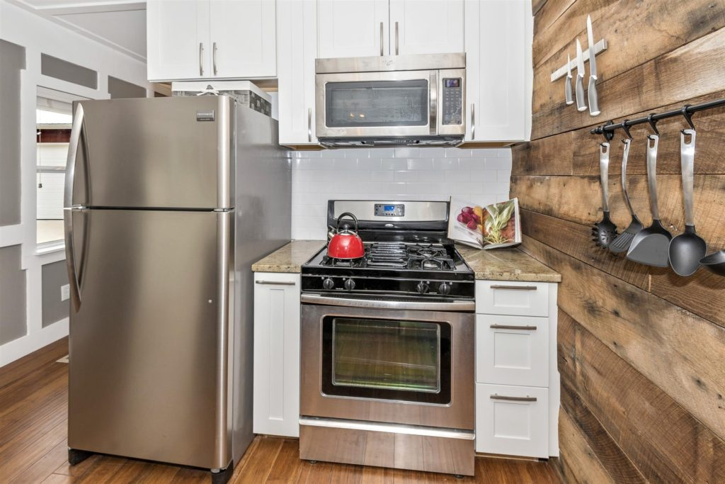 Dreamwood by Humble Houses - full size appliances