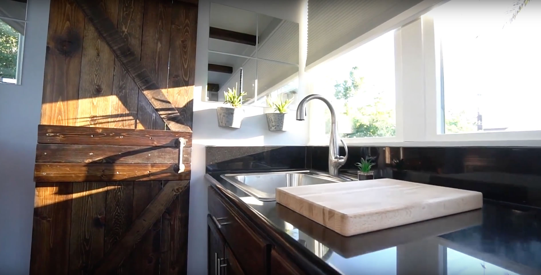 Kitchen Detail- Alternative Living Spaces Container Home