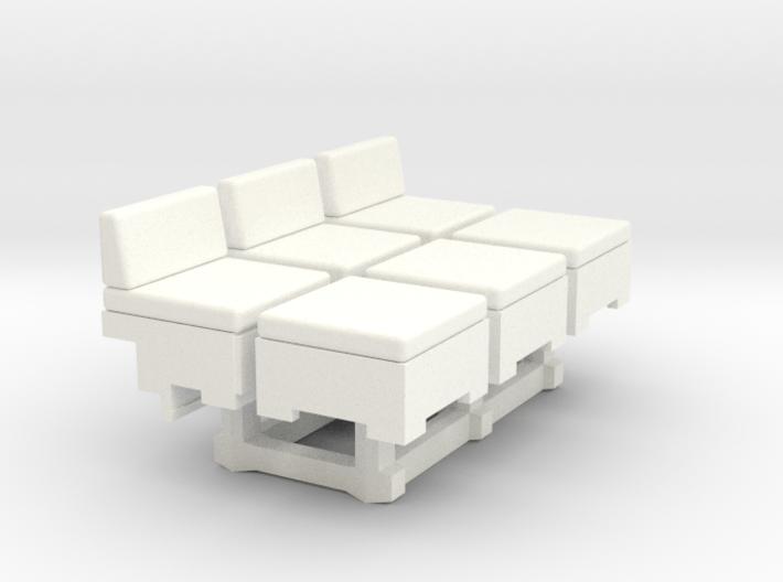 modular storage seating