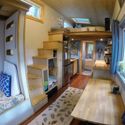 Austin & Heidi's Tiny House Creates Contentment
