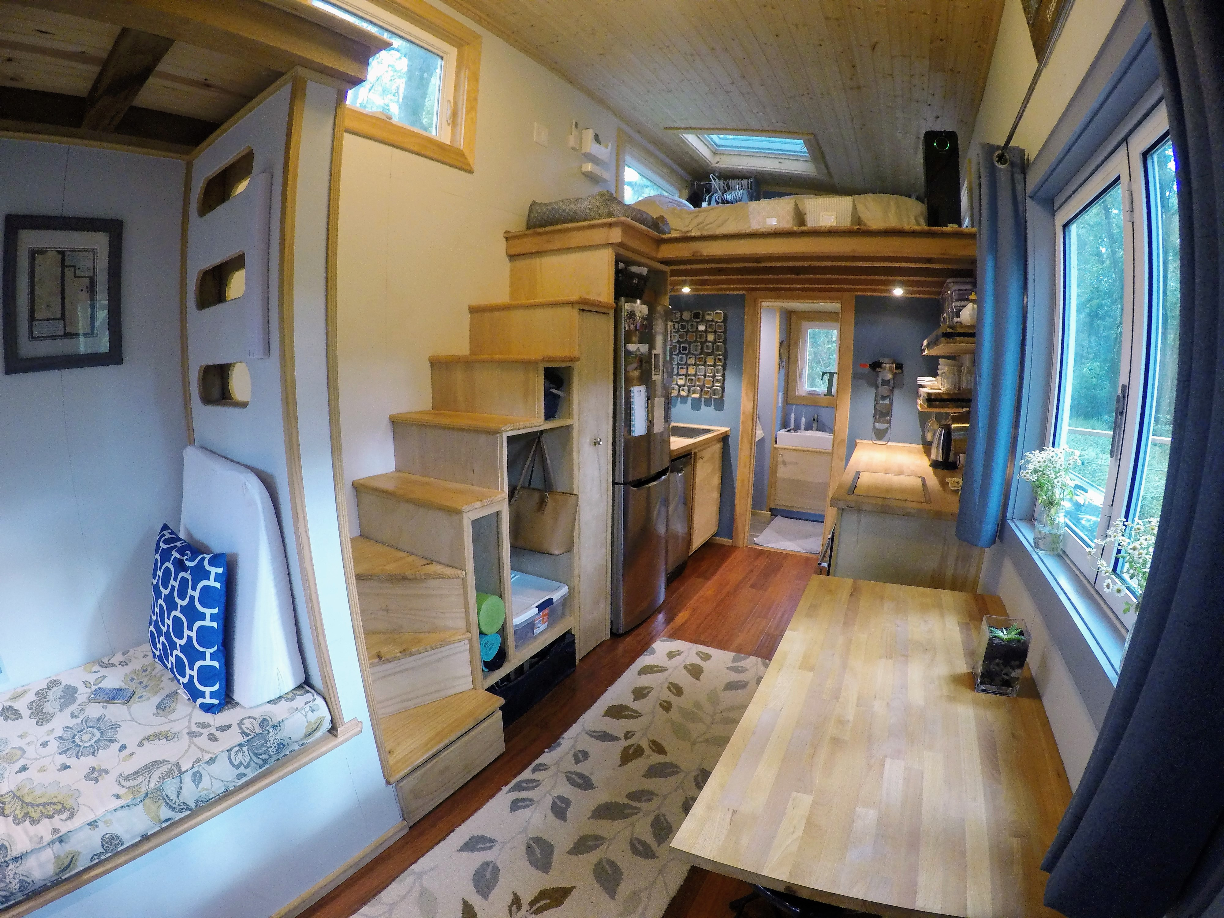Austin U0026 Heidiu0027s Tiny House Creates Contentment