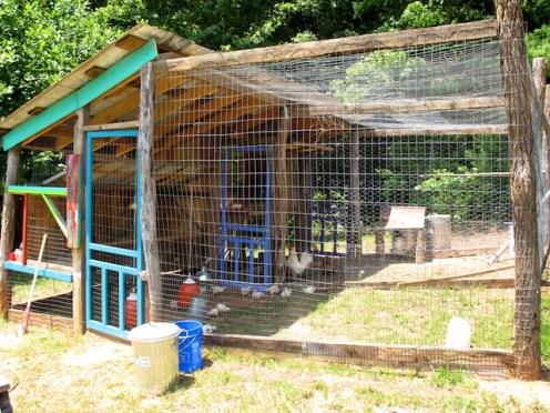 The fourth Hawk-Mo chicken coop.