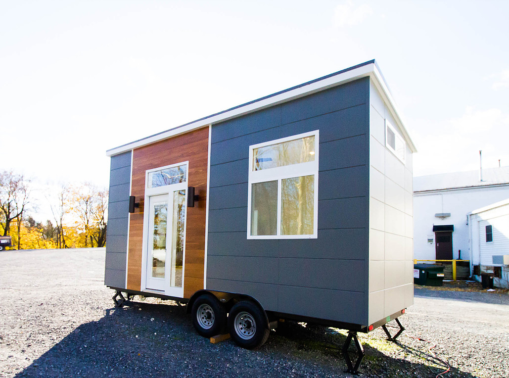 Exterior - The Modern Mini by Liberation Tiny Home