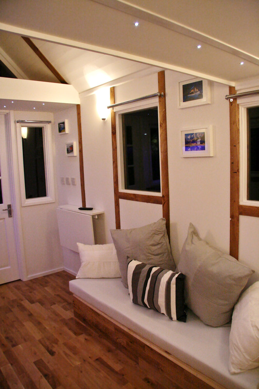 sofa bed reduced most comfortable sectional sofas 2017 tiny house on wheels for sale. garden cabin/pod. - ...