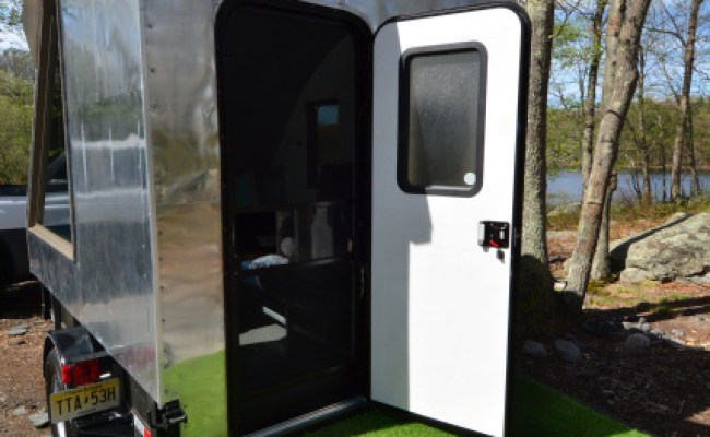 Aviation Tiny House Nfl Tailgating Micro Structure On Wheels