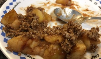 Best Stove Top Apple Crisp to Celebrate Fall