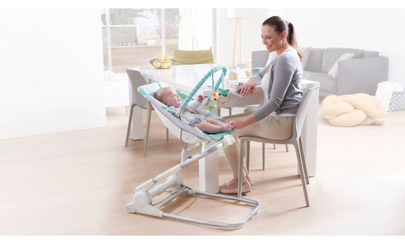 tiny love bouncer chair silver dining chairs and table close to me baby