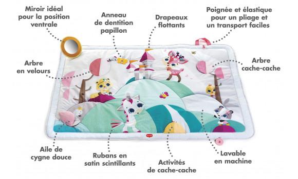 tapis geant princesse