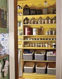 Kitchen Pantry Baskets Organization