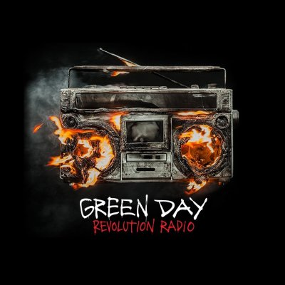 Image result for green day revolution radio