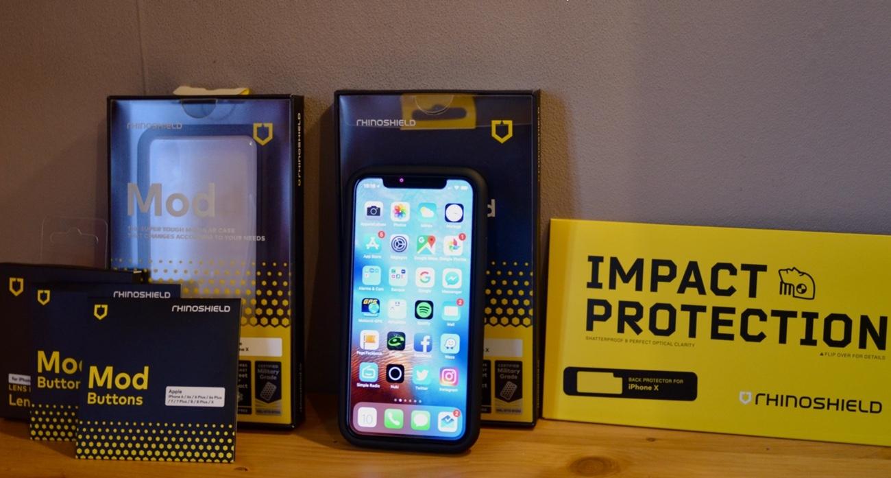 coque bumper rhinoshield crashguard pour iphone 8