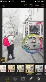 application édition photos