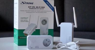 CPL «Strong» Wi-Fi 500 – La solution pour booster votre Wi-Fi via les prises de courant!