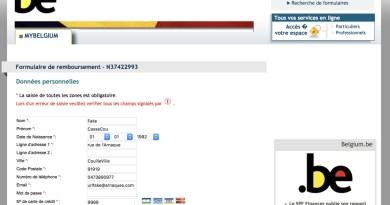 L'arnaque au fisc belge : Non, ne remplissez pas ce formulaire !