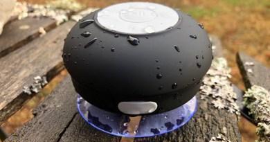 TEST – Kitsound : Une enceinte portable qui vous suivra même sous la douche!