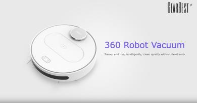 Le robot aspirateur 360 S6 est disponible en vente flash pour 275,90€ au départ d'un entrepôt EU