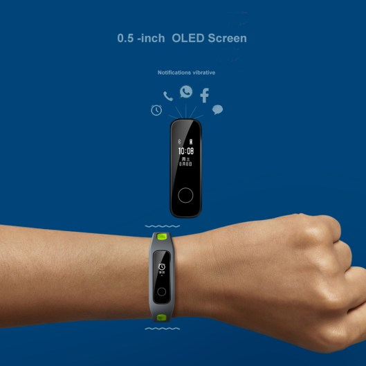 Huawei-Honor-Band-4-Running-Smart-Bracelet-50m-Waterproof-Fitness-Tracker-Touch-Screen-Message-Call-Notification