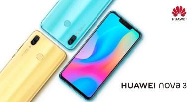 Le Huawei Nova 3 (version 6 Go/128 Go), son écran gigantesque et son quadruple capteur photo est disponibleen vente flash pour 311,50€