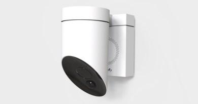 Somfy Outdoor Camera : la caméra de sécurité intelligente avec une détection et une sirène intégrées