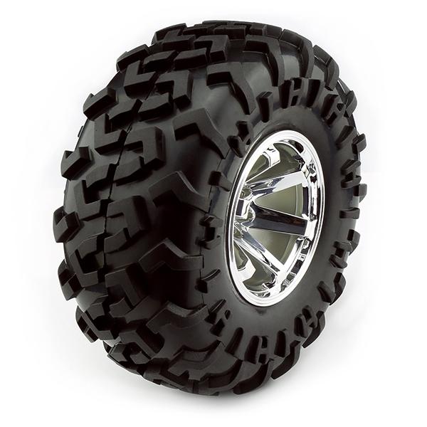 Big OffRoad Wheels  125x60mm 2 pack