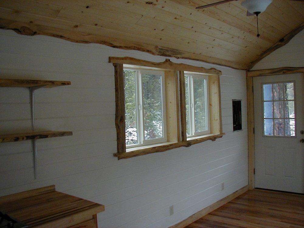The North40 Cabin 10 X 40 58000  Tiny Portable Cedar