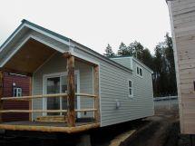 Hardie Plank Siding Cabin