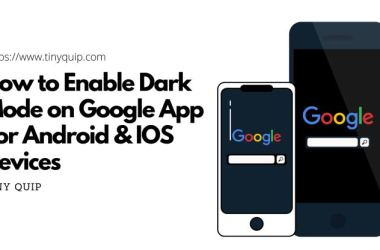 enable dark mode on google app for android and iphone