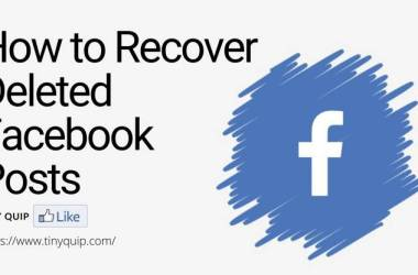 recover deleted facebook posts