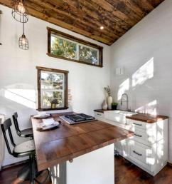 plenty of kitchen storage for a tiny house  [ 862 x 1056 Pixel ]