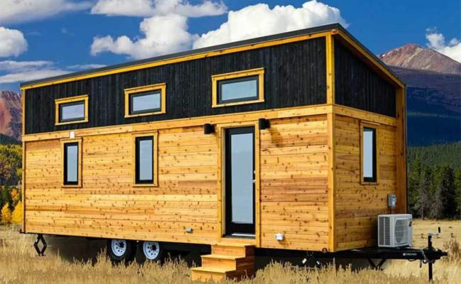 26 Tumbleweed Tiny House With Shed Style Roof