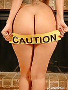 Luscious Perscilla : Caution! Hottie is Smoking Hot!