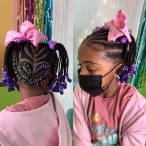 Cornrows with Natural hair 3 - Cornrows with Natural hair 3