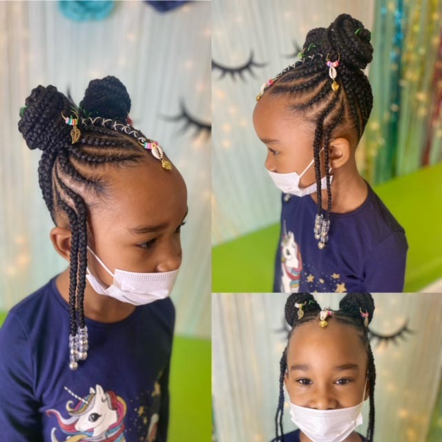 Kids Tribal Braids - Our Services