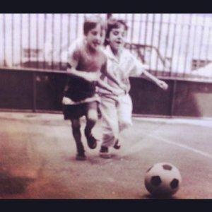 The Boyhood Dreamer - Vojin aged 6.