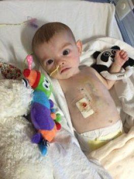 Harriett in hospital