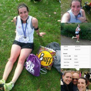 Hannah Shooman running 100km for baby hearts