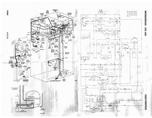 small resolution of refrigerator parts ge profile side by side refrigerator general electric refrigerator wiring diagrams general electric refrigerator wiring diagrams