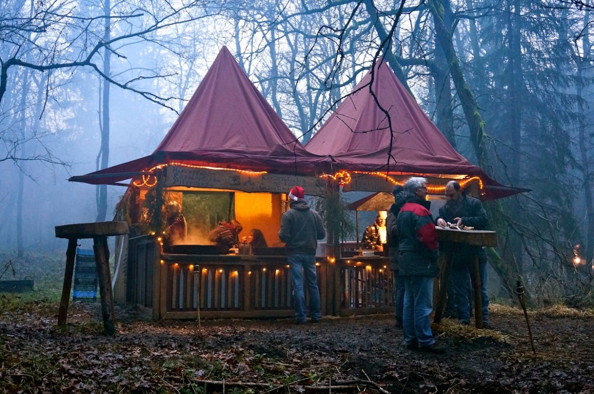 Christmas Market in the Valley nearby