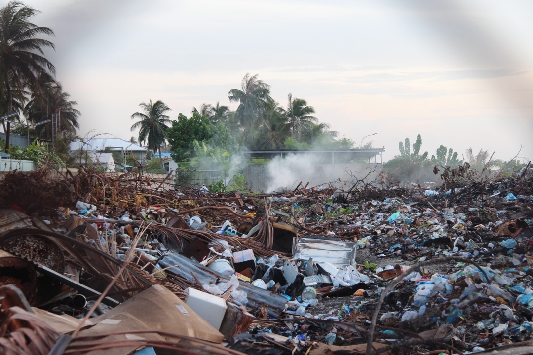 landfills in Maafushi, Maldives