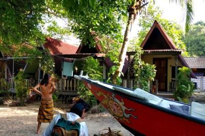 KBC A-Frame chalets in Pulau Kapas