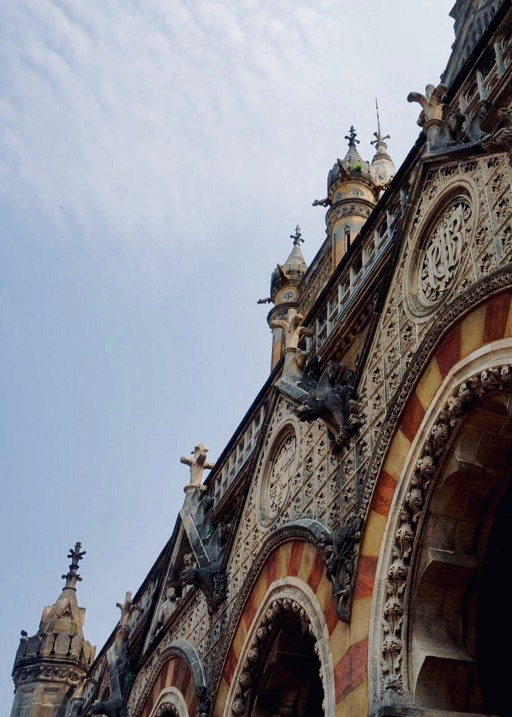 Architecture of CST Station (Victoria Railway) in Mumbai