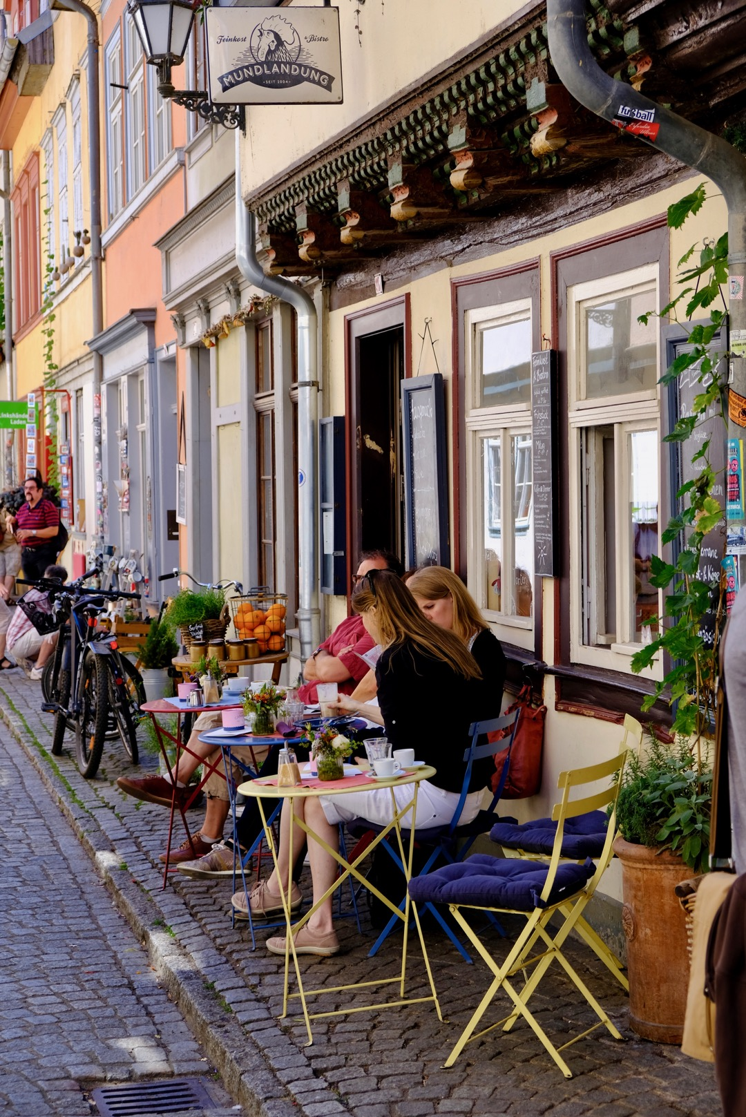 Cafe culture in Erfurt